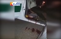 تصاویری دردناک از شهادت ماموران نیروی انتظامی