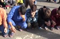 دستگیری مرد ملقب به بوفالو توسط پلیس