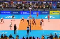 خلاصه والیبال ایران 3 - آلمان 2 (لیگ ملت ها)