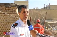 نشت گاز در یکی از منازل شهر مشهد به وقوع انفجاری مهیب منجر شد , www.ipvo.ir