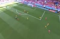 گل دوم تونس به بلژیک در جام جهانی 2018