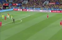 خلاصه 90 دقیقه بازی کلمبیا 1 - انگلیس 1 جام جهانی روسیه 2018