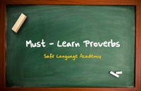 Must Learn Proverb