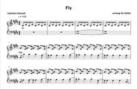 نت پیانو fly از لودویکو اناودی