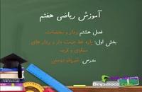 آموزش ریاضی هفتم فصل هشتم