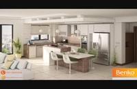 جنس مناسب کابینت آشپزخانه | مبلمان اداری بنکو | 26100782