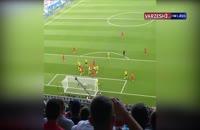 گل هری مگوایر از نگاه دوربین هواداران مقابل سوئد جام جهانی 2018