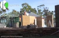 ساخت خانه های ویلایی با سرعت تمام