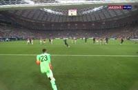 فیلم گل دوم فرانسه به کرواسی - فینال جام جهانی 2018