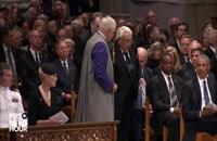 Henry Kissinger speaks at memorial service for John McCain at National Cathedral 2018