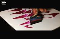 نقاشی خط احمد دیزرانی نقاشیخط مربع مربع mmoraba