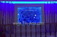 اجرای تخصصی ابنمای شیشه ای،دیوار حبابی در رستوران و کافی شاپ