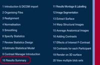 SPM Tutorial 10 - Results Summary