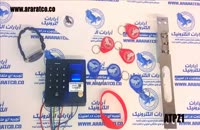 قفل اثر انگشتی کارتی رمزی درب ضد سرقت هوشمند