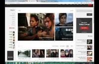 طراحی سایت ارزان ویدیویی مشابه آپارات و یوتیوب