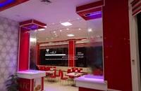 آبنمای شیشه ای فست فود KFC تالار شهر قزوین