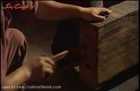 کهنه کاری چوب با ابزارهای سنتی در ژاپن