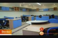 انواع میز کار گروهی و اداری -مبلمان اداری بنکو-26100782