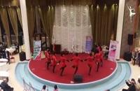 سالن دیپلماتیک وزارت خارجه - جشن دهه فجر - رقص آذری آیلان