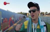 مشاهده هوادار برزیلی طرفدار علیدایی و خداداد عزیزی