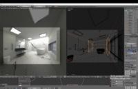 آموزش مدل سازی داخلی در Blender