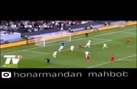 گرفتن پنالتی توسط بیرانوند در بازی ایران و عمان