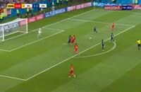 گل سوم بلژیک به ژاپن - ناصر چادلی