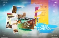 دانلود پروژه افترافکت Vacation Grunge Album