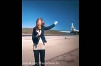 لحظه ورود بمب افکن های استراتژیک TU160 روسیه به ونزوئلا