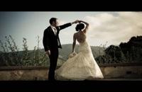 ژست های عکس عروس و داماد برای فضای باز و تالار عروسی