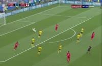خلاصه بازی سوئد 0 - انگلیس 2 جام جهانی 2018