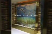 ابنمای شیشه ای،آبشار شیشه ای، اجرا و طراحی آبنمای شیشه ای با کیفیت