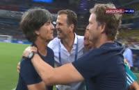 گریز آلمان از حذف در رقابت های جام جهانی 2018 و واکنش هوادارن