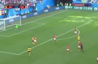 گل دوم بلژیک به انگلیس ادن هازارد