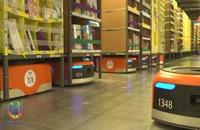 ربات های شرکت آمازون در کمتر از 30 دقیقه اقلام سفارش شده را به سفارش دهندگان تحویل می دهند.