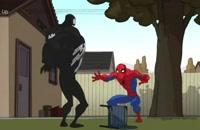 انیمیشن - مرد عنکبوتی - خرابکاری - دوبله فارسی