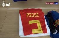 عکس رسمی از تمرین تیم ملی اسپانیا در جام جهانی 2018