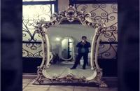 آینه کنسول فایبرگلاس | مجسمه فایبرگلاس | مجسمه پلی استر