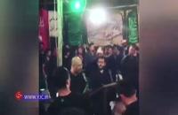 مداحی صداپیشه جنابخان در مجلس عزاداری امام حسین(ع)