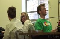 غذا خوردن خنده دار در کتابخانه / دوربین مخفی