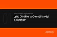 آموزش استفاده از فایل های DWG برای ایجاد مدل سه بعدی در اسکچاپ