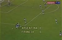 تنها بازی آرژانتین - فرانسه در جام جهانی 1978