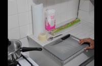 کلیپ آموزشی طرز تهیه شیرینی ناپلونی