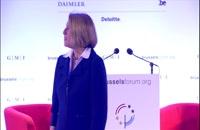 Brussels Forum 2015: Welcome & Conversation with Ursula von der Leyen and Zbigniew Brzezinski 2015