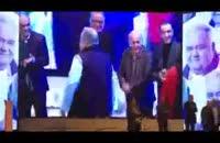 شوخی های اکبر عبدی و مسعود ده نمکی در افتتاحیه جشنواره فیلم فجر