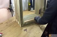 آموزش ساخت گلدان چوبی
