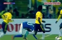 صحنه هایی از حرکت های غیر اخلاقی و ضد فوتبالی نیمار