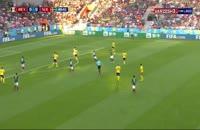 فیلم گل اول سوئد به مکزیک در جام جهانی 2018