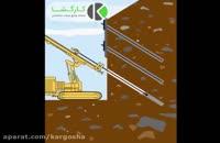 نیلینگ- Nailing یکی از روشهای پایدارسازی خاک