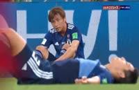 واکنش های بازیکنان و هواداران پس از بازی تیم ملی بلژیک - ژاپن